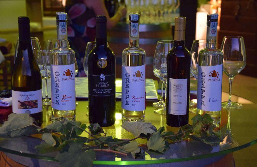 Dall'uva alla vinaccia…dal vino alla grappa